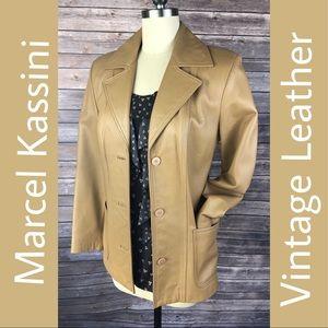 Marcel Kassini Jackets & Coats - Vintage Marcel Kassini Leather Jacket